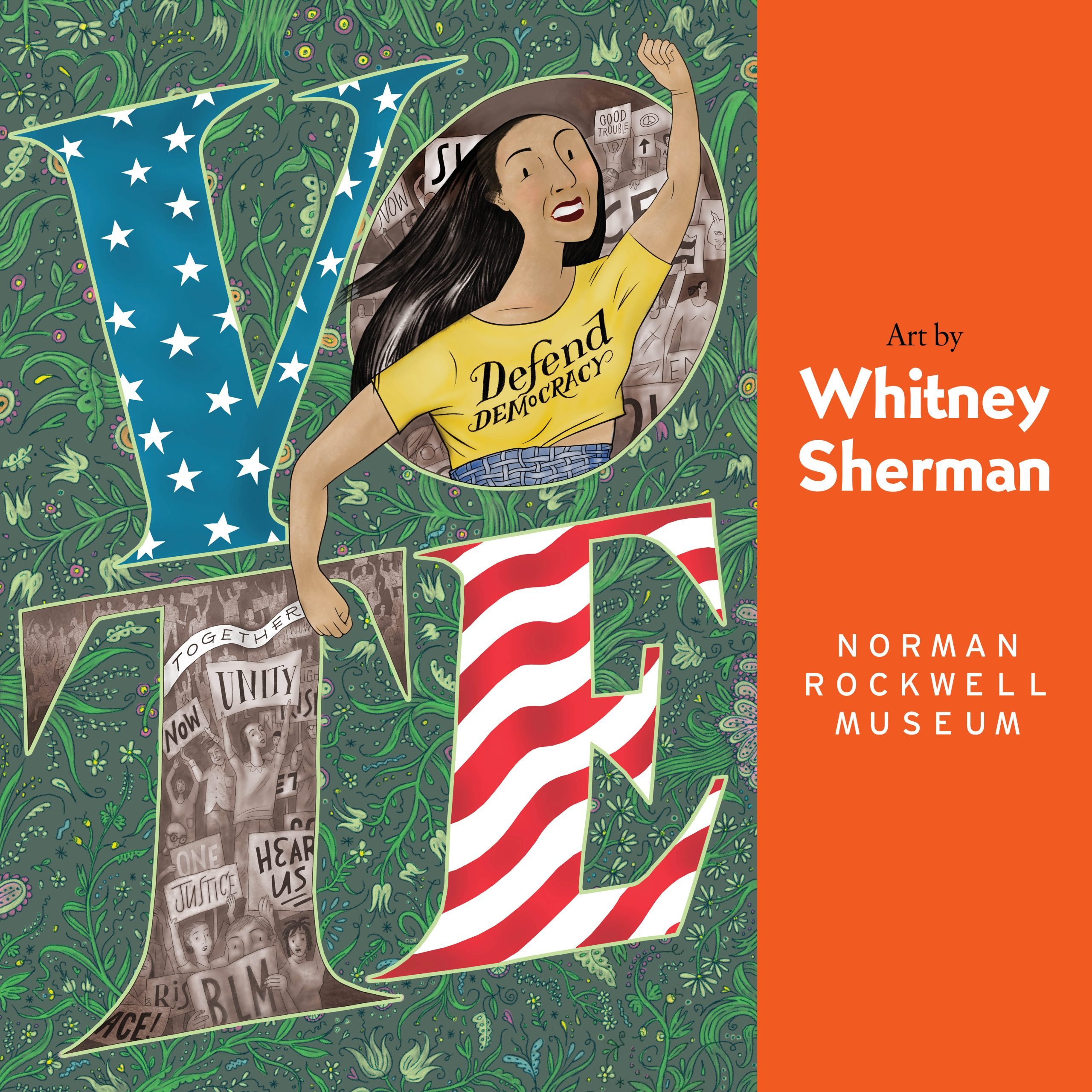 Whitney Sherman: Vote - Defend Democracy