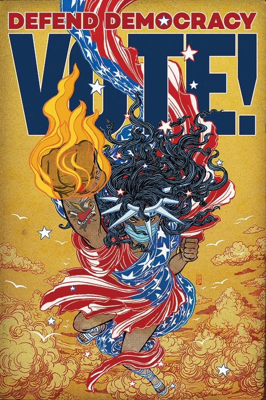 Yuko Shimizu: Defend Democracy - Vote