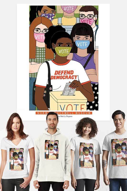 Mai Ly Degnan Defend Democracy Apparel