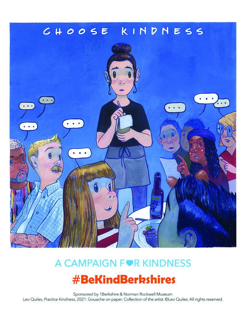 #BeKindBerkshires - Practice Kindness - Leo Quiles