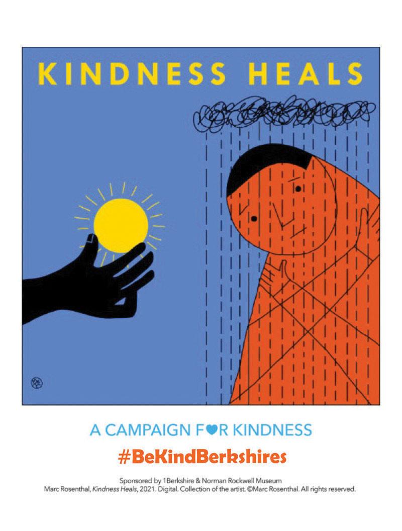 #BeKindBerkshires - Kindness Heals - Marc Rosenthal